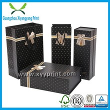China supplier handicraft gold foil printing paper bags for wine packing