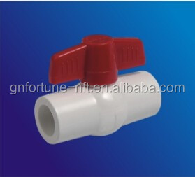 pvc pipe fitting plastic ball valve price