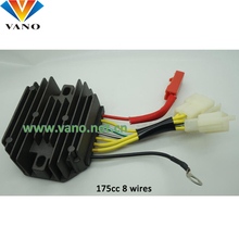 cheap 12v 175cc voltage regulator 7 wires rectifier bajaj 3 wheller 4s