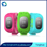 Trustworthy China supplier Real time position uploading smart wrist watch gps tracker