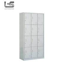 12 door metal iron wardrobe steel clothes storage locker