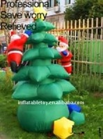 Christmas decorations item inflatable Christmas tree