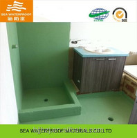 Single-component Polyurethane bathroom floor waterproofing coating