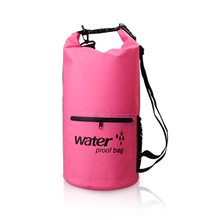 Lightweight low price waterproof custom logo sack dry bag with shoulder strap