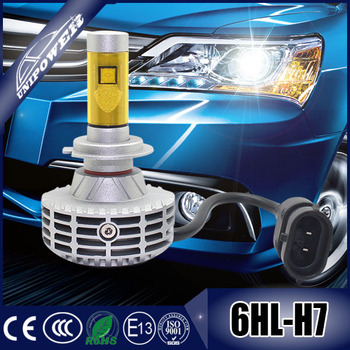 DC12-24V 3000lm G6 led head light canbus h7 all in one no fan auto led headlight kit