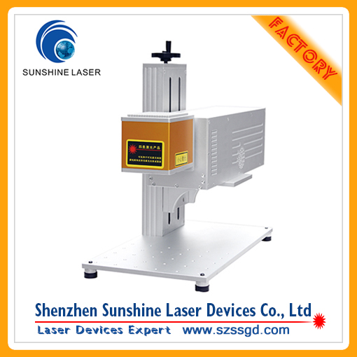 High Speed CO2 Laser Marking Machine for shirt button