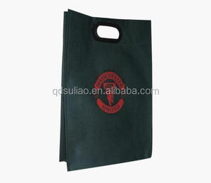 Printed side gusset die cut handle Non Woven Bag