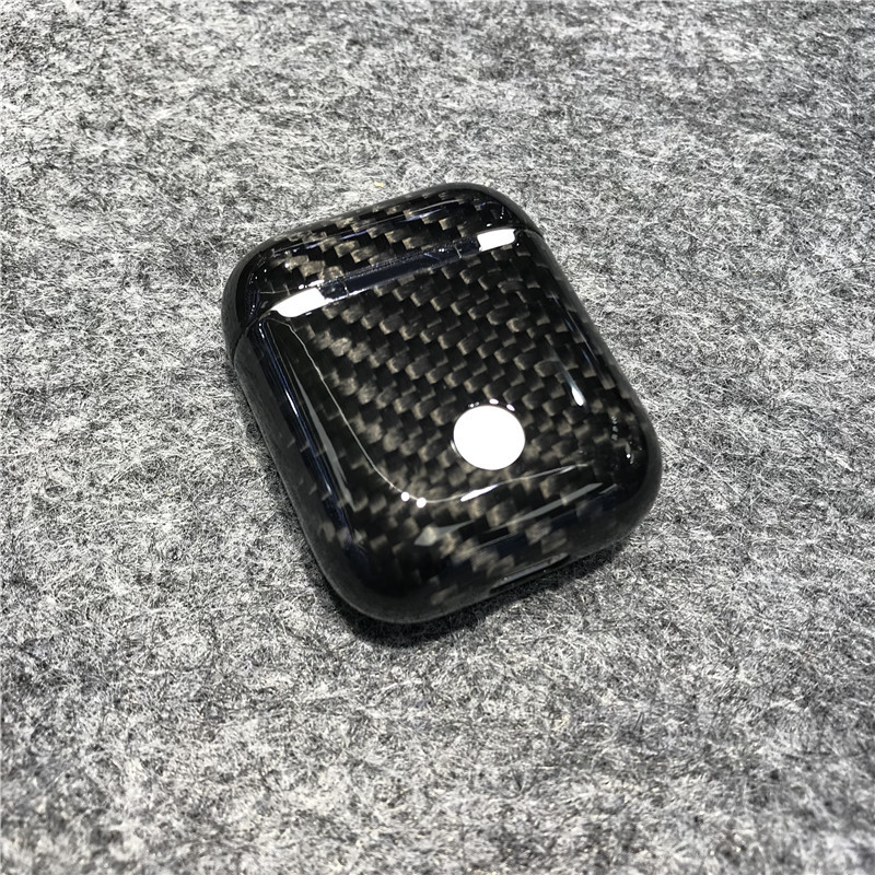 For Airpod carbon fiber <strong>case</strong> Real carbon fiber <strong>Case</strong> for AirPod Shock Proof Protective Cover