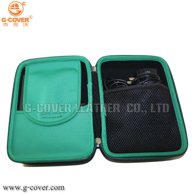 EVA tool case, shockproof travel hdd camera cable earphone battery storage case