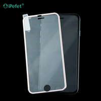 New Arrival 9H Full Cover Titanium Alloy Tempered Glass Screen Protector For iPhone 6/s