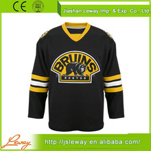 Adults custom half and half nhl team american ice hockey jerseys