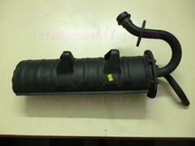 silencer assembly for three wheelers