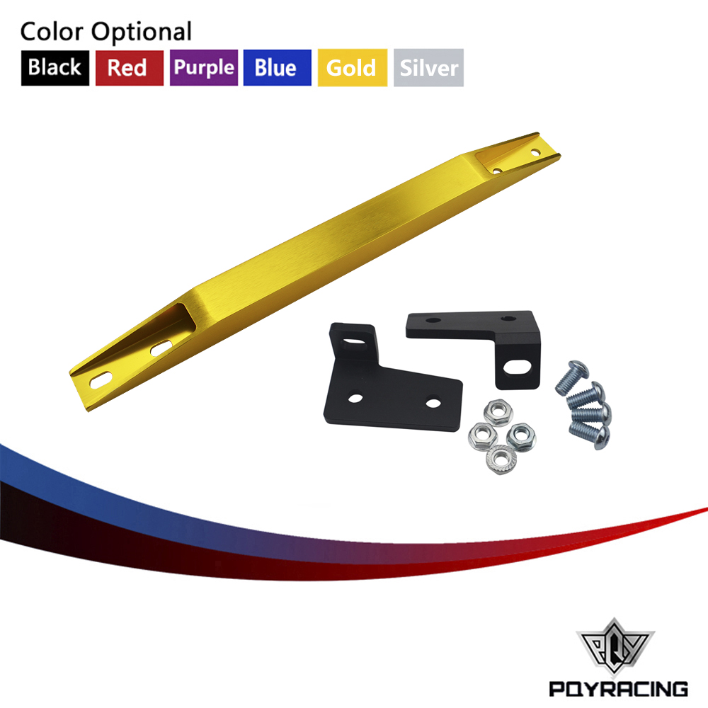PQY RACING- NEW LOWER TIE BAR For RSX 02-06 DC5 TYPE-S FOR CIVIC 01-05 EP3 EM2 ES1 SUBFRAME LOWER TIE BAR PQY-TB31
