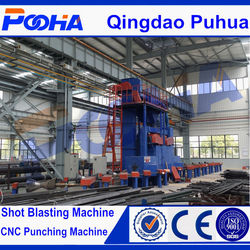 steel pipe outer wall shot machine