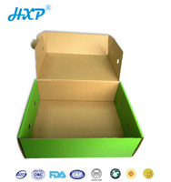 Recycled cardboard mango packing carton custom size