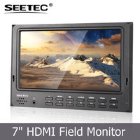 7 inch hd field lcd monitor HDMI input 1024x600 resolution display with Exposure Histogram False Colors features