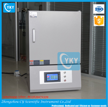 Laboratory PID control 1200 Degree Electric Kiln for Ceramic with Front Loading Furniture Kits & selves