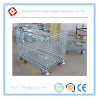 Cargo Storage Equipment Steel Foldable Wire