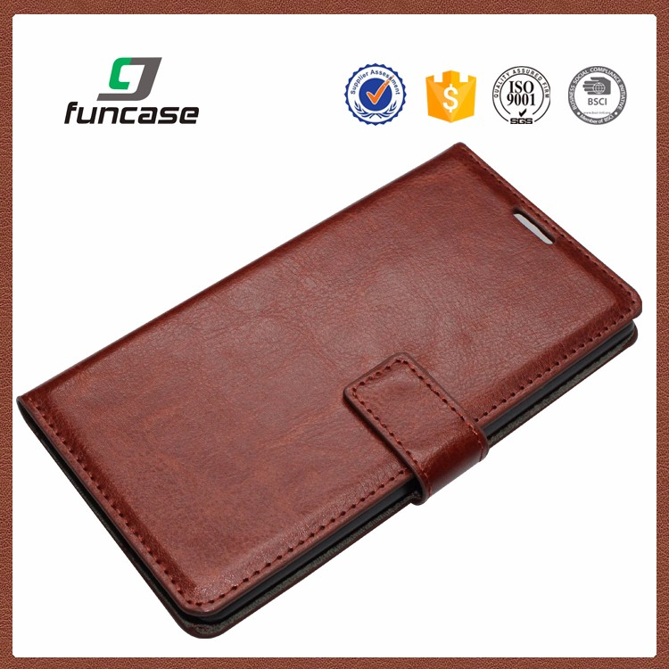 China factory supply pu leather phone case oem mobile phone case for lenovo s820