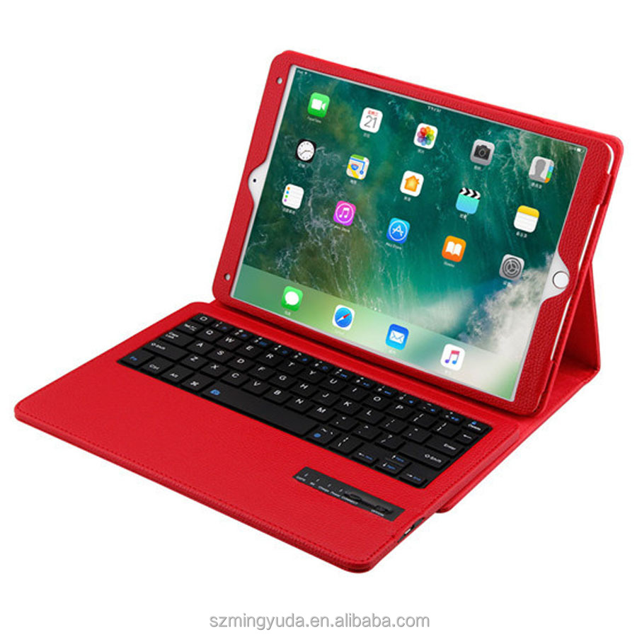 12 months warranty period ABS plastic keyboard and PU leather cases for ipad pro 10.5 2017