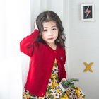 Fashion children's knitted sweater cardigans sweater