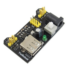 Power supply module, breadboard power supply compatible with dc3.3v/5v Raspberry Pi