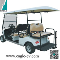 Electric utility golf buggy,6 passenger golf cart,airport electric car