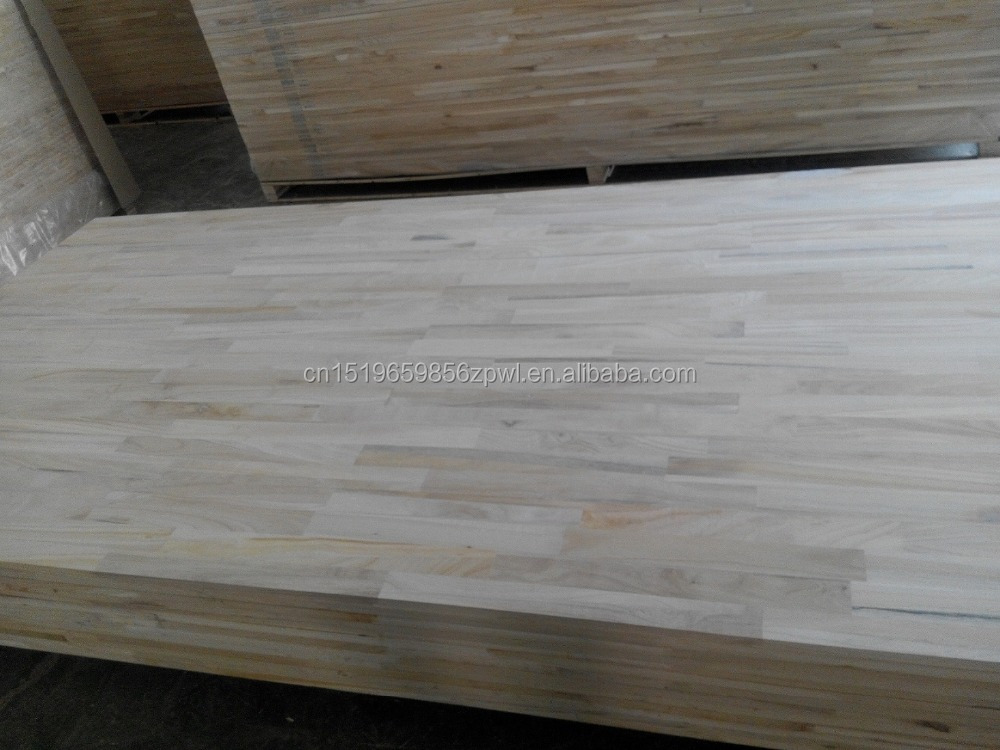 Paulownia Pine edge glued panel / finger joint board / laminated timber