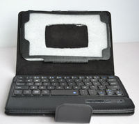 Bluetooth Keyboard tablet case for samsung galaxy note 10.1 inch N8000