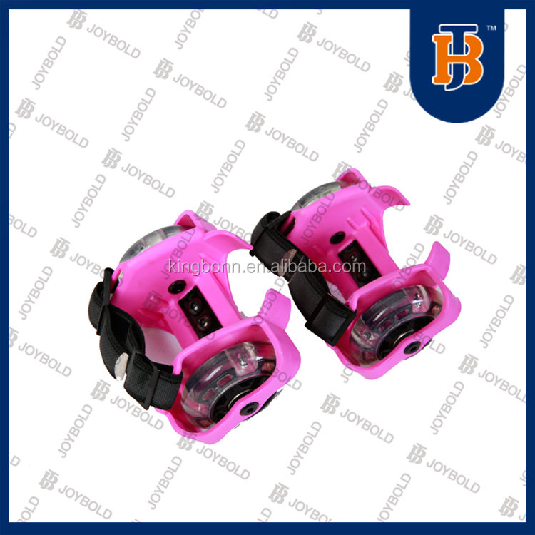 2017 Sporting Pulley Light Flashing Wheels Heel Skate Rollers,Flashing Roller 7 COLORS