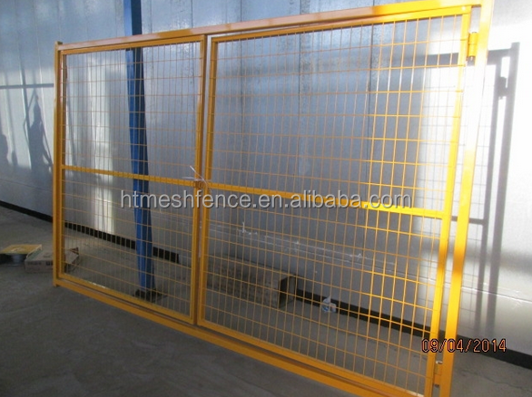 Powder Coated Canada Temporary Construction Fence