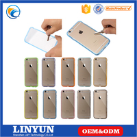 Manufacture newest products Ultra-slim pc tpu phone case for apple iphone6