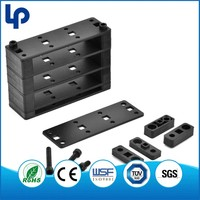 Lepin low price Telecom Network ABS pv cable clip , cable holder