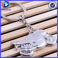 Classic 3D Simulation Model Motorcycle Motorbike Key Ring
