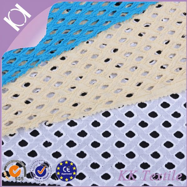 100% Cotton plain color netting fabric design