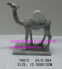 Resin camel with stone color -#74012