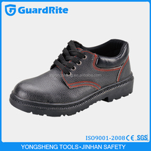 GuardRite Brand Cheap PU Sole Low Cut Construction Safety Shoes , Wholesale Upper Leather Construction Safety Shoes