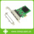 PCI-Express 4 port Gigabit Ethernet Controller Card,RTL8111 Chipset,support low profile bracket