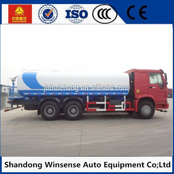 low price howo 8000L fuel tank truck / refuel tank truck to sale in africa
