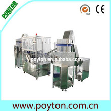 Top level new product for disposable syringe assembly machine
