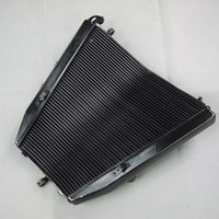 Aftermarket Motorcycle OEM Street Bikes On-Road Radiators For Kawasaki ZX10R 2004 2005