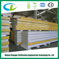 High Performance Insulation Board / Polyurethane Foam Sheets For Housing Industrializaiton