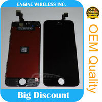 The biggest discount for iphone 5c lcd touch screen with digitizer assembly,oem,cheap