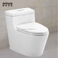 made in china ceramic toilet with ivory color standard toilet dimensions