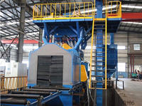 roller bed convey type shot blasting machine (ce)