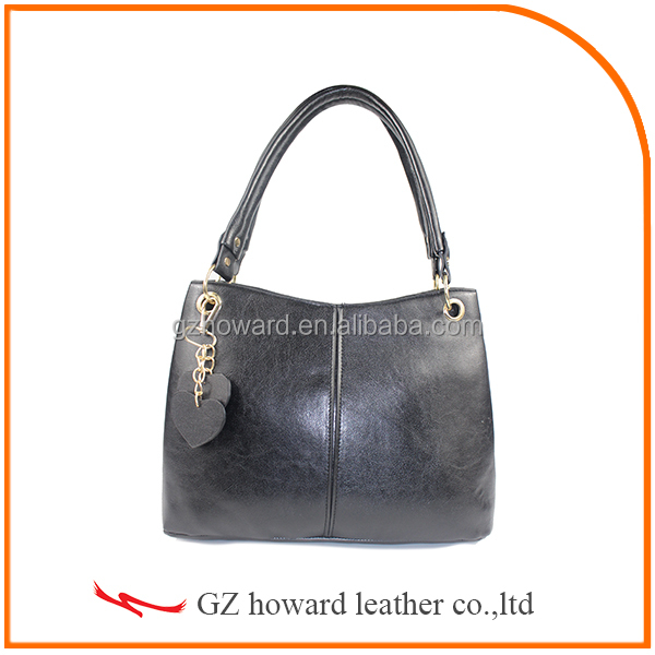 fashion design lady hanbag PU leather handbag 2015