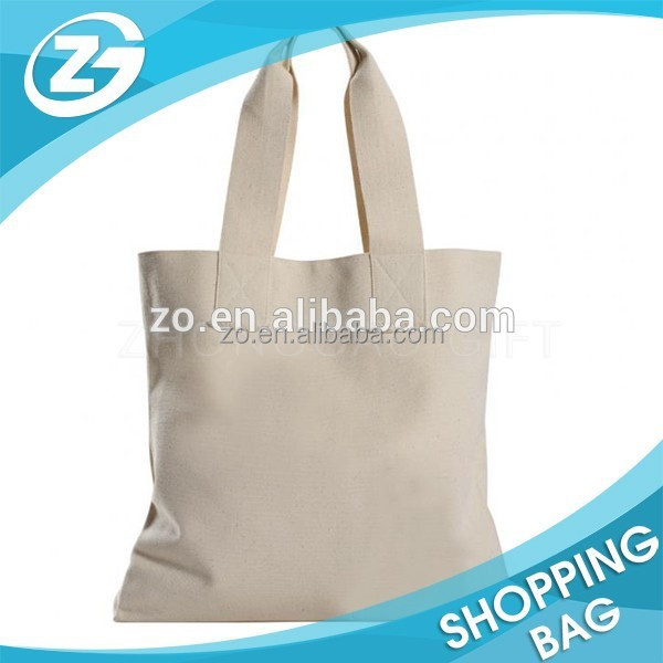 Heavy Duty Cheap Recycle Cotton blank canvas tote bags