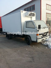 meat transport refrigerated van body ckd cargo truck box body