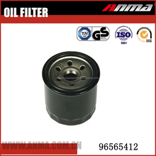 Industrial spare parts compressed oil filters for OEM NO.96565412