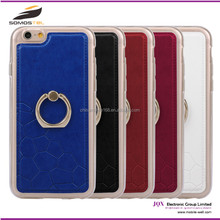 [Somostel] 2015 New Fashion Ring Stand Back Case for iPhone 6,single ring display case for samsung galaxy s4 mini case